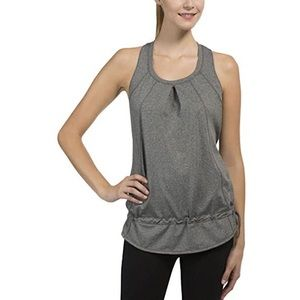 Weatherproof 32 Degrees Gray Drawstring Tank Top S